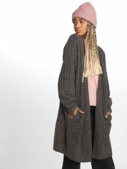 Pieces Cardigans pcSanni Wool Knit šedá