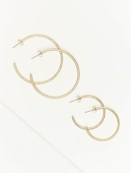 Pieces Earring pcTenna gold colored