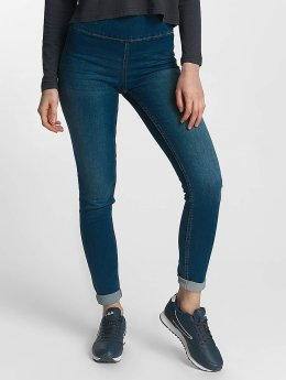 Pieces Frauen High Waist Jeans pcHighwaist in blau