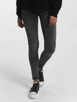 Pieces Jean skinny pcFive Delly gris