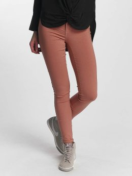 Pieces Jean skinny pcSkin rose