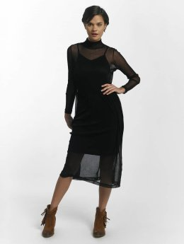 Pieces Frauen Kleid pcOdina Long in schwarz