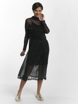 Pieces Kleid pcOdina Long schwarz