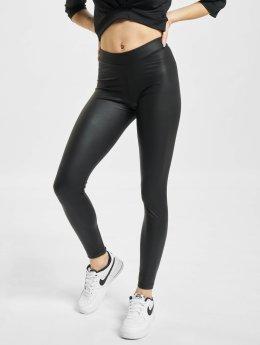 Pieces Leggings/Treggings New Shiny black