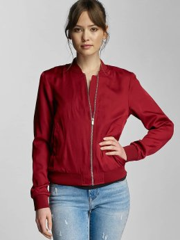 Pieces Pilotjakke pcCampain Bomber red
