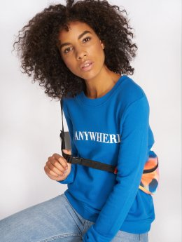 Pieces Pullover pcFrog blau