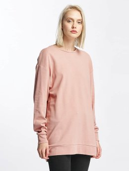 Pieces Frauen Pullover pcNoma Long in rosa