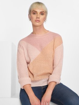 Pieces Frauen Pullover pcFrikka in rosa