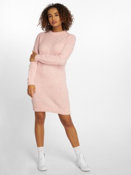 Pieces Pullover Ls Wool rosa