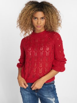 Pieces Pullover pcFiona Knit rot