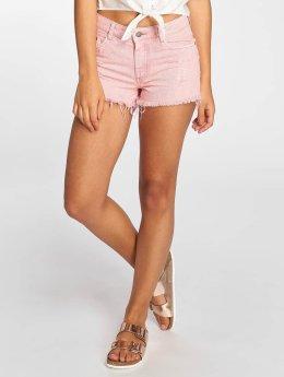 Pieces Shorts pcStraight rosa