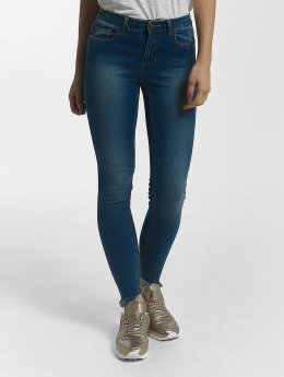 Pieces Skinny Jeans pcFive Soft blau