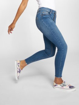 Pieces Skinny Jeans pcFive Delly B185 blau