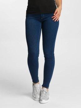Pieces Skinny Jeans pcShape Up niebieski