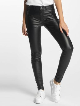 Pieces / Skinny jeans pcSkin Betty Coated in zwart