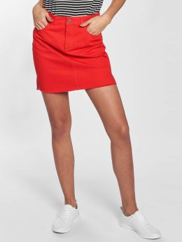Pieces Skirt pcJuna red