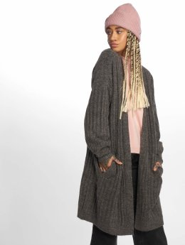 Pieces Strickjacke pcSanni Wool Knit grau