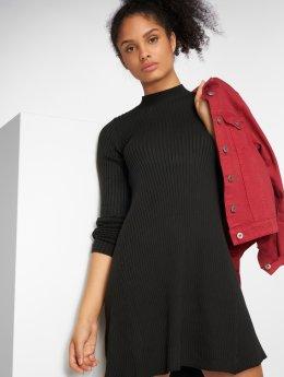 Pieces Sukienki pcTrue Knit czarny