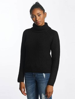 Pieces Sweat & Pull pcJerika Rollneck noir