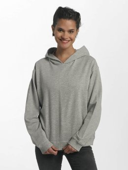Pieces Sweat capuche pcIda gris