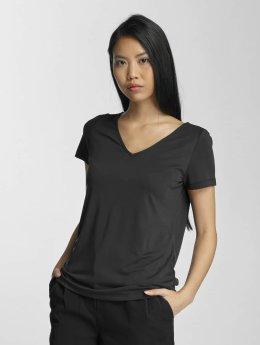 Pieces T-Shirt pcSiw V-Neck black