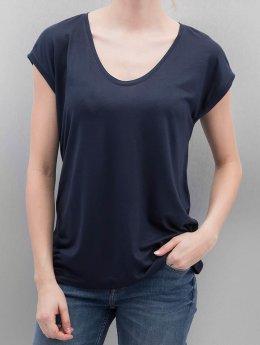 Pieces T-Shirt PCBillo Solid blau