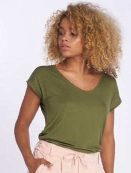 Pieces t-shirt pcBillo Solid groen
