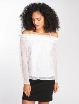 Pieces T-Shirt manches longues pcDaria blanc