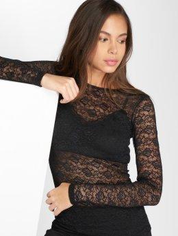 Pieces T-Shirt manches longues pcDora Lace noir