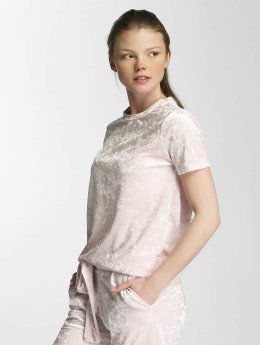 Pieces Frauen T-Shirt pcEdith in rosa