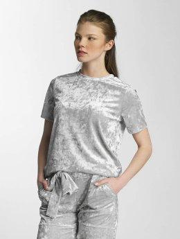 Pieces T-Shirt pcEdith silberfarben