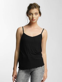 Pieces Top psKin schwarz