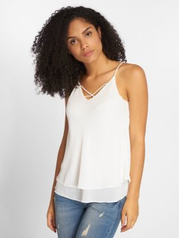 Pieces Top pcKaysa white