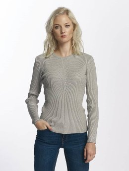 Pieces pcVesla Knit Sweatshirt Light Grey Melange