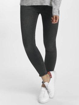 Pieces Tynne bukser pcFive Delly grå