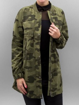 Pieces Frauen Übergangsjacke PcCamou in camouflage