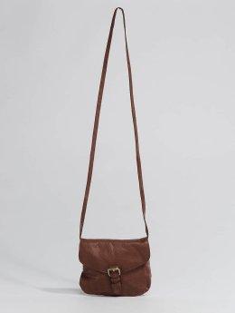 Pieces Väska pcAbby Leather Party brun