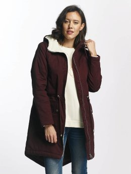 Pieces Winter Jacket pcJosie red