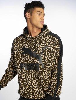 Puma Bluzy z kapturem Wild Pack Fleece bezowy