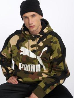 Puma Bluzy z kapturem Wild Pack moro