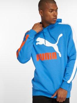 Puma Bluzy z kapturem T7 niebieski