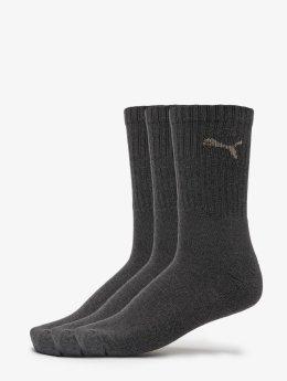 Puma Chaussettes 3-Pack Sport gris