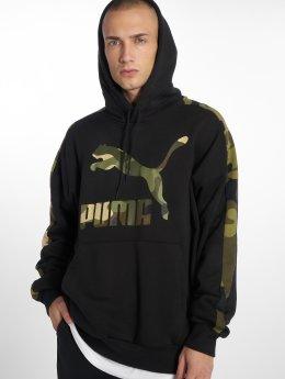 Puma Felpa con cappuccio Wild Pack nero