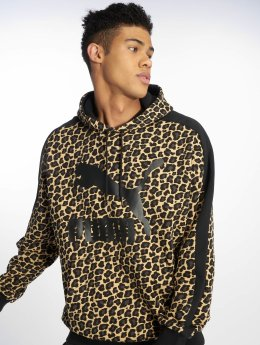 Puma Hoodies Wild Pack Fleece béžový