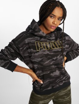 Puma Hoody Camo Cropped camouflage