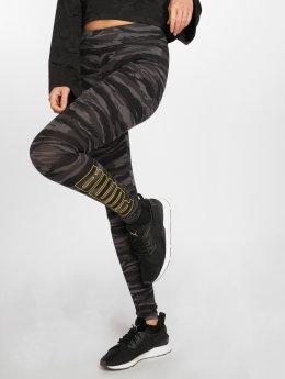 Puma Legging Camo schwarz