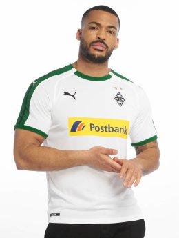 Puma Performance camiseta de fútbol BMG Home Replica Sponsor Logo blanco