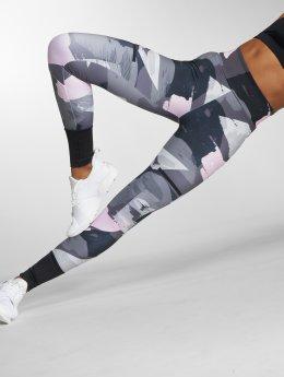 Puma Performance Legging Chase All Over Print grau