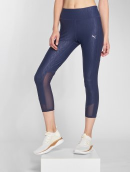 Puma Performance Leggings/Treggings Always On Graphic 3/4 niebieski