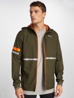 Puma Performance Lightweight Jacket Last Lap olive